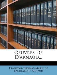 Oeuvres De D'arnaud...