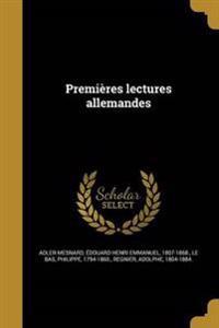 FRE-PREMIERES LECTURES ALLEMAN