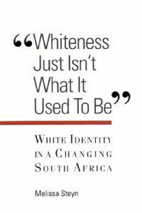 Whiteness Just Isn't What It Used to Be""