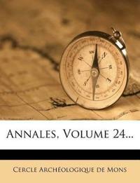Annales, Volume 24...