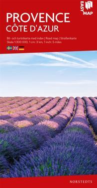 Provence Côte d'Azur EasyMap : Skala 1:300.000
