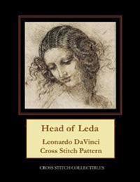 Head of Leda: Leonardo DaVinci Cross Stitch Pattern