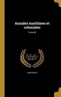 FRE-ANNALES MARITIMES ET COLON