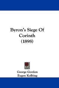 Byron's Siege of Corinth