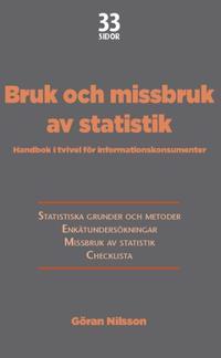 Bruk och missbruk av statistik : Handbok i tvivel för informationskonsumenter