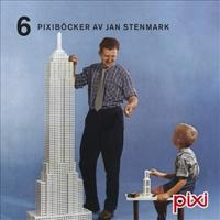 6 Pixiböcker av Jan Stenmark