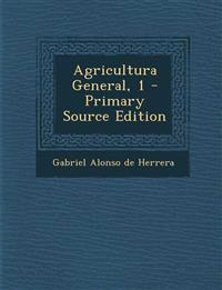 Agricultura General, 1