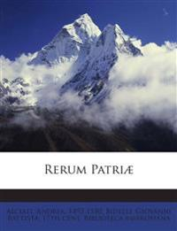 Rerum Patri