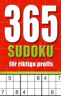 365 sudoku för riktiga proffs