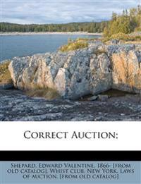 Correct Auction;
