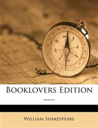 Booklovers Edition ......