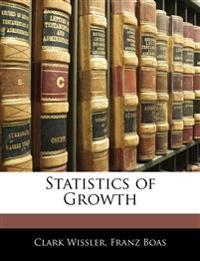 Statistics of Growth