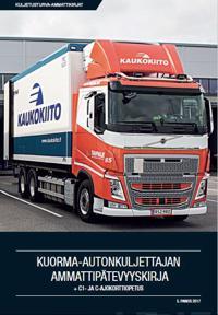 Kuorma-autonkuljettajan ammattipätevyyskirja +C1- ja C-ajokorttiopetus