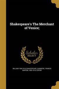 SHAKESPEARES THE MERCHANT OF V