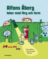 Alfons Åberg leker med färg och form : leta, räkna och lek med Alfons!