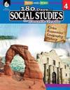 180 Days of Social Studies for Fourth Grade (Grade 4): Practice, Assess, Diagnose
