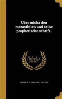 GER-UBER MICHA DEN MORASTHITEN