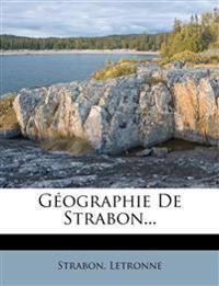 Géographie De Strabon...