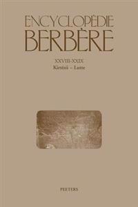 Encyclopedie Berbere. Fasc. XXVIII-XXIX: Kirtesii - Lutte