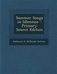 Summer Songs in Idlenesse