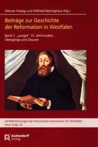 Beiträge zur Geschichte der Reformation in Westfalen