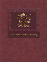 Light - Primary Source Edition