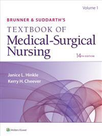 Brunner's Textbook of Medical-Surgical Nursing 14th Edition 2-Vol + Study Guide + Clinical Handbook Package