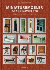 Miniaturemøbler i skandinavisk stil