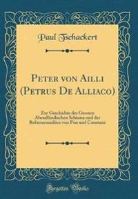 Peter von Ailli (Petrus De Alliaco)