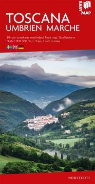 Toscana EasyMap : Skala 1:300.000