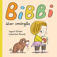 Bibbi äter smörgås