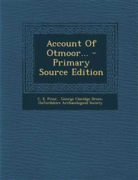 Account Of Otmoor...
