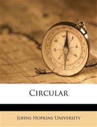 Circular Volume 5, Nos. 43-50