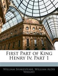 First Part of King Henry Iv, Part 1