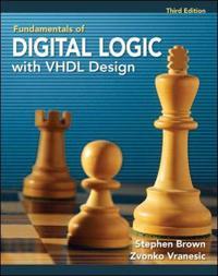 Funkvinnortals of Digital Logic with VHDL Design with CD-ROM - Stephen brun - böcker (9780077221430)     Bokhandel
