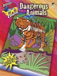 Dangerous Animals Coloring Book