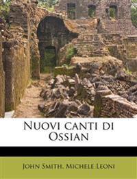 Nuovi canti di Ossian