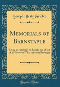 Memorials of Barnstaple