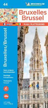 Michelin Brussels Map 44
