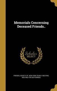 MEMORIALS CONCERNING DECEASED