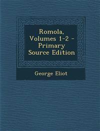 Romola, Volumes 1-2