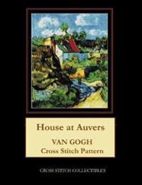House at Auvers: Van Gogh Cross Stitch Pattern