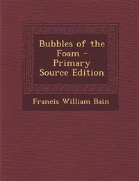 Bubbles of the Foam - Primary Source Edition