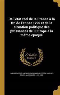 FRE-DE LETAT REEL DE LA FRANCE