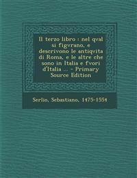 Il terzo libro : nel qval si figvrano, e descrivono le antiqvita di Roma, e le altre che sono in Italia e fvori d'Italia ... - Primary Source Edition