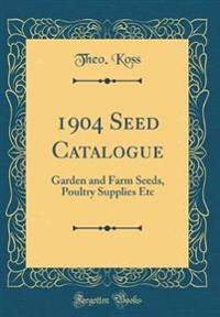 1904 Seed Catalogue