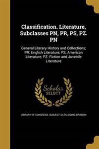 CLASSIFICATION LITERATURE SUBC