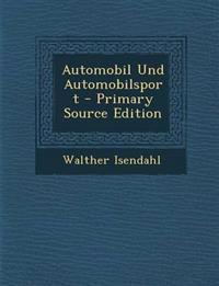 Automobil Und Automobilsport