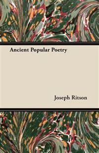 Ancient Popular Poetry