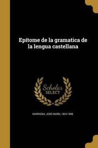 SPA-EPITOME DE LA GRAMATICA DE